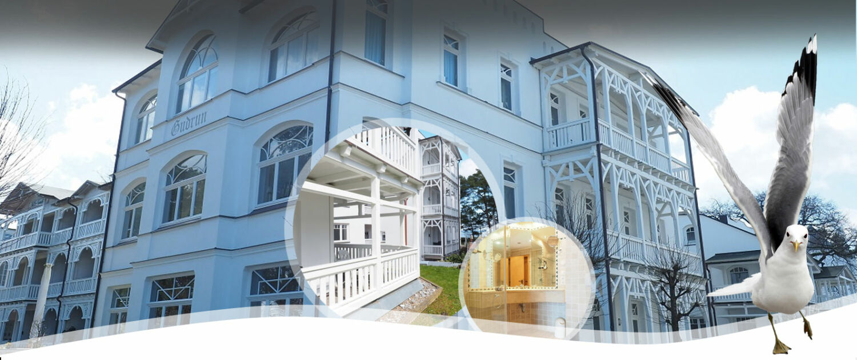 Ferienwohnung Villa Gudrun, Unterkünfte Binz